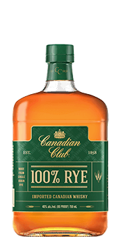Canadian Club<span>®</span> 100% Rye